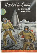 Books:First Editions, Richard Marsten. Rocket to Luna....