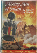 Books:First Editions, Philip Latham. Missing Men of Saturn. ...