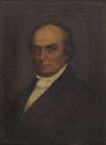 Fine Art - Painting, American:Antique  (Pre 1900), Attributed to (CHARLES) CHESTER HARDING (American 1792-1866).Daniel Webster, Early Nineteenth Century. Portrait of a...