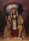 Paintings, HENRY CORNELIUS BALINK (American 1882-1963). Horse Chief Eagle, Ponca Tribe, 1927. Oil on canvas. 44-1/2 x 32 inches (11...