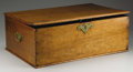 Military & Patriotic:Civil War, Officer's Mahogany Box. Many officers, especially general officers, traveled as well-outfitted as they could within reason. ...
