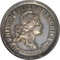 Patterns: , 1869 10C Standard Silver Ten Cents, Judd-696, Pollock-775, R.5,PR63 PCGS. Standard Silver design with the head of Liberty ...