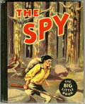 Golden Age (1938-1955):Miscellaneous, Big Little Book #768 The Spy (Whitman, 1936) Condition: NM-....