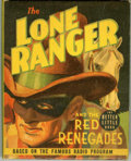 Golden Age (1938-1955):Miscellaneous, Big Little Book #1489 The Lone Ranger and the Red Renegades (Whitman, 1939) Condition: NM-....