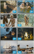"Movie Posters:Adventure, The Blue Lagoon (Columbia, 1980). Lobby Card Set of 8 (11"" X 14"").Adventure.... (Total: 8 Items)"