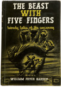 Books:First Editions, William Fryer Harvey. The Beast with Five Fingers...