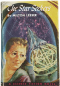 Books:First Editions, Milton Lesser. The Star Seekers....
