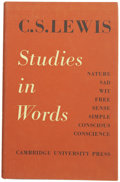 Books:First Editions, C. S. Lewis. Studies in Words....