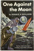 Books:First Editions, Donald A. Wollheim. One Against the Moon....