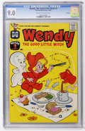 Silver Age (1956-1969):Cartoon Character, Wendy, the Good Little Witch #2 File Copy (Harvey, 1960) CGC VF/NM 9.0 Cream to off-white pages....