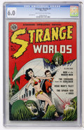 Golden Age (1938-1955):Science Fiction, Strange Worlds #1 (Avon, 1950) CGC FN 6.0 Light tan to off-whitepages....