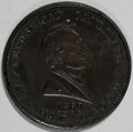 "U.S. Presidents & Statesmen, 1860 Lincoln ""Liberty Union And Equality"" Campaign Token...."