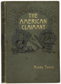 Books:First Editions, Mark Twain. The American Claimant....