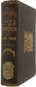 Books:First Editions, Mark Twain. The Innocents Abroad, or The New Pilgrims'Progress;...