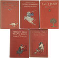 Books:First Editions, Five First Edition Mark Twain Novels, including:... (Total: 5Items)