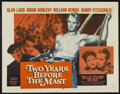 "Movie Posters:Adventure, Two Years Before the Mast (Paramount, R-1956). Half Sheet (22"" X28"") Style A. Adventure...."