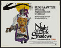 "Movie Posters:Horror, Night of Dark Shadows (MGM, 1971). Half Sheet (22"" X 28""). Horror...."
