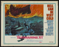 "Movie Posters:War, Submarine X-1 (United Artists, 1968). Half Sheet (22"" X 28"").War...."