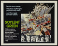 """Movie Posters:Science Fiction, Soylent Green (MGM, 1973). Half Sheet (22"""" X 28""""). ScienceFiction...."""