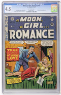 Golden Age (1938-1955):Romance, A Moon, A Girl...Romance #9 (EC, 1949) CGC VG+ 4.5 Off-whitepages....