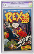 Golden Age (1938-1955):Miscellaneous, Adventures of Rex the Wonder Dog #1 (DC, 1952) CGC Apparent FN- 5.5 Slight (A) White pages....