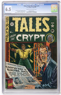 Golden Age (1938-1955):Horror, Tales From the Crypt #21 (EC, 1951) CGC FN+ 6.5 Cream to off-whitepages....