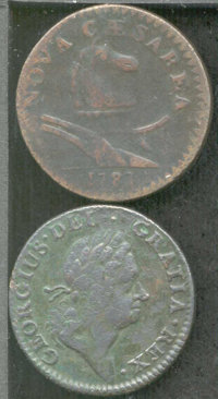 1724 Hibernia farthing Fine 15 PVC, Corroded, softly defined in the center of the obverse but a few points higher in gra...