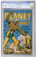 Golden Age (1938-1955):Science Fiction, Planet Comics #30 Lost Valley pedigree (Fiction House, 1944) CGCFN+ 6.5 Off-white to white pages....