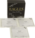 Music Memorabilia:Autographs and Signed Items, Eagles Autographed Paper Sleeve Collection CD Set withStudio Cut CDs. A copy of the seven-disc box set signed o...(Total: 1 Item)