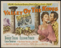 "Movie Posters:Adventure, Valley of the Kings (MGM, 1954). Half Sheet (22"" X 28"") Style A.Adventure...."