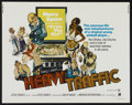 "Movie Posters:Animated, Heavy Traffic (American International, 1973). Half Sheet (22"" X28""). Animated...."