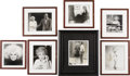 Movie/TV Memorabilia:Photos, Group of Seven CENSORED Club Pictures of Phyllis Diller. Comedyfavorite Phyllis Diller mugs away in these seven framed sho...(Total: 1 Item)