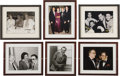 Movie/TV Memorabilia:Memorabilia, Six Framed Photos from the Beverly Hills CENSORED Club. These six framed photos from the famous show business club include t... (Total: 1 Item)