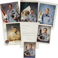 Explorers:Space Exploration, Six International Space Shuttle Astronauts Signed Photographs,...(Total: 7 Items)