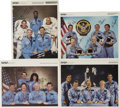 Autographs:Celebrities, Four Space Shuttle NASA Photographs Signed by the Astronaut CrewMembers.... (Total: 4 Items)