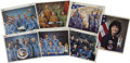 "Explorers:Space Exploration, Six Astronaut Crew Signed Color 8"" x 10"" Photographs,... (Total: 6 Items)"