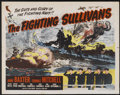"""Movie Posters:War, The Sullivans (Realart, R-1951). Half Sheet (22"""" X 28"""").Re-released as The Fighting Sullivans. War...."""