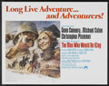 "Movie Posters:Adventure, The Man Who Would Be King (Columbia, 1975). Half Sheet (22"" X 28"").Adventure...."