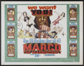 "Movie Posters:Adventure, Marco the Magnificent (MGM, 1966). Half Sheet (22"" X 28"").Adventure...."