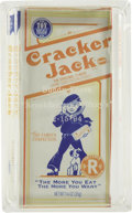 Movie/TV Memorabilia:Memorabilia, Buddy Ebsen's Memento Cracker Jack Box. A box of Cracker Jackplayed a notable role in Breakfast at Tiffany's, when ino... (Total: 1 Item)