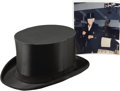 Movie/TV Memorabilia:Memorabilia, Buddy Ebsen's Collapsible Top Hat Used for Live Show. Every songand dance man needs a top hat and Buddy Ebsen was no except...(Total: 1 Item)