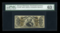 Fractional Currency:Third Issue, Fr. 1329 50c Third Issue Spinner PMG Choice Uncirculated 63 EPQ....
