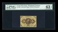 Fractional Currency:First Issue, Fr. 1229 5c First Issue PMG Choice Uncirculated 63 EPQ....
