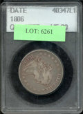 Additional Certified Coins: , 1806 25C Quarter VF 20 ACCUGRADE. B-9, R.1. The otherwise lila...