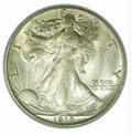Additional Certified Coins: , 1918-D 50C Half MS 64 ICG. Noticeably scarcer than its S-m...