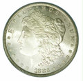 Additional Certified Coins: , 1882 $1 Dollar MS 66 ICG. A creamy-white, satiny example with...