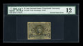 Fractional Currency:Second Issue, Fr. 1233 5c Second Issue Entire Back Inverted PMG Fine 12....