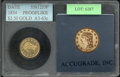 Additional Certified Coins: , 1834 $2 1/2 No Motto Quarter Eagle MS 60 Cleaned (MS 63 ACCUGR...