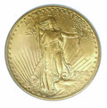 Additional Certified Coins: , 1908 $20 Motto Double Eagle MS 64 ICG. The granular, lustr...