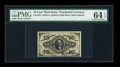 Fractional Currency:Third Issue, Fr. 1254 10c Third Issue PMG Choice Uncirculated 64 EPQ....